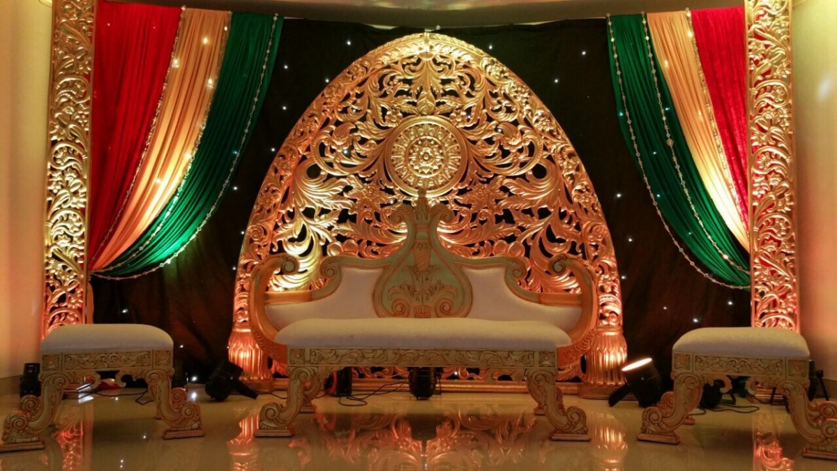Mehndi Stage Design 2018 : Stages asian wedding event management