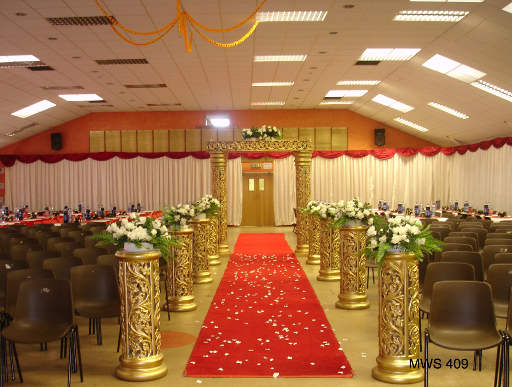Walkways entrance d cor asian wedding event management for Asian wedding stage decoration manchester