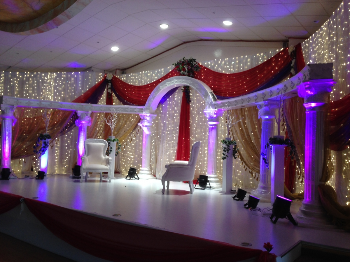 Mehndi Candles Birmingham : Wedding stages asian event management